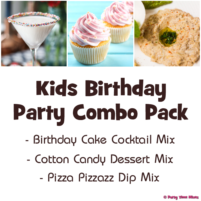 Kids Birthday Party Combo Pack