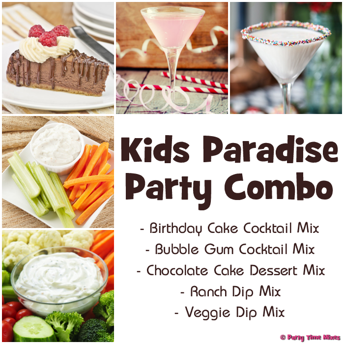 Kids Paradise Party Combo Pack