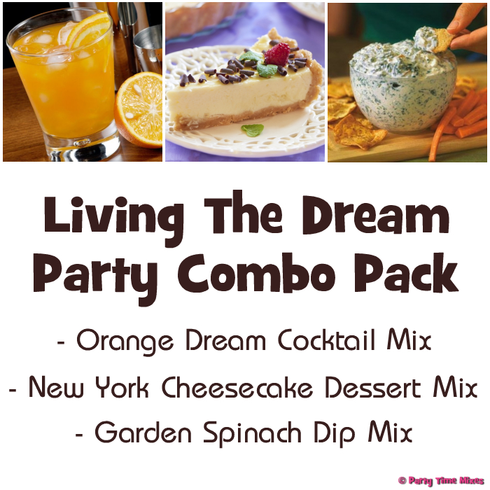 Living The Dream Party Combo Pack